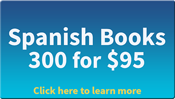 300 Spanish Books For 95 Dollars