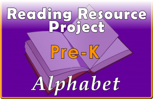 RRP Collection Pre-Kind. Alphabet