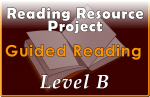 RRP Guided Reading Level B