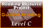 RRP Guided Reading Level C