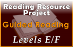 RRP Guided Reading Levels E-F