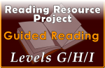 RRP Guided Reading Levels G-H-I